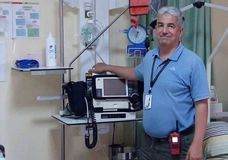 Medilink Algeria Chief Medical Officer Dr Mounir Ferrani